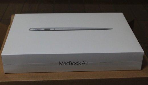 初Mac!MacBookAir11インチを購入!どこでも快適に持っていけて最高!
