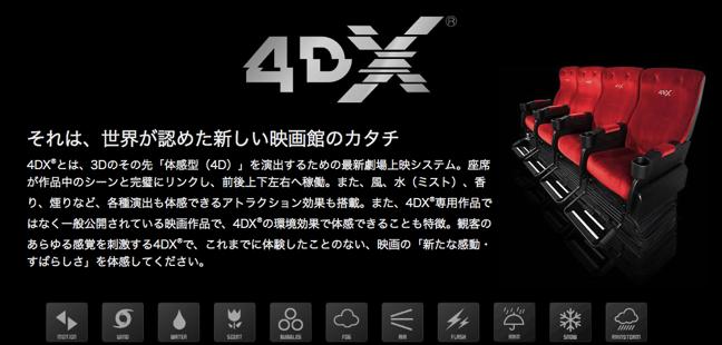 【映画】次世代の映画鑑賞、4DXが109シネマズ広島にオープンするよ!