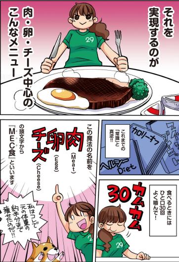 【読書】肉・卵・チーズをたっぷり食べて 1年で50kg痩せましたby椎名マキ タンパク質をしっかり摂って、よく噛んで食べる!通常のダイエット観から足りないことを補完できて納得!