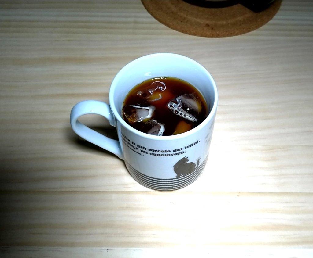 シロカSC-A221で煎れたコーヒー