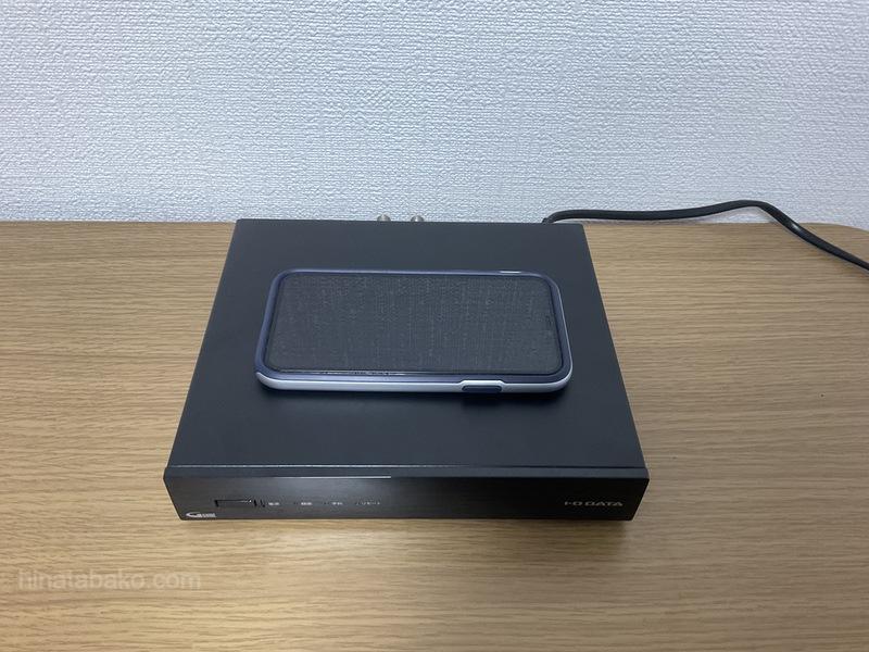 アイ・オー・データ ワイヤレスチューナーHVTR-T3HD1T本体