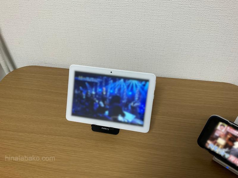 HVTR-T3HD1TとAmazon FireタブレットでのTV視聴